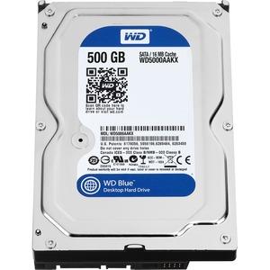 """Disco Duro WD Blue WD5000AAKX - 500 GB - 3.5"""" Interno - SATA - 7200 rpm - 16"""
