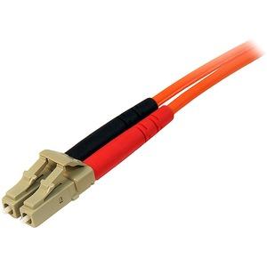 StarTech.com 5 m Multimode 50/125 Duplex LWL-Patchkabel LC - LC - Erster Anschluss: 2 x LC Stecker Netzwerk - Zweiter Ansc