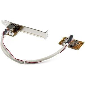 StarTech.com Mini PCI Express Gigabit Ethernet Netzwerkkarte - mini PCIe NIC Lan Adapter Karte - Mini PCI Express - Realte