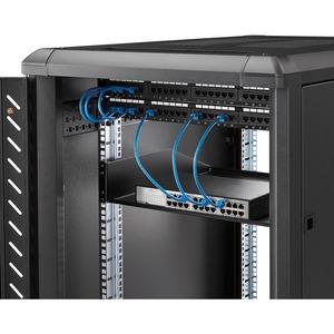 StarTech.com 2 HE Fest montierter Schwerlast Fachboden für Server Rack/ Schrank bis 56 Kg - 45 cm Tief - 56,70 kg Static/S