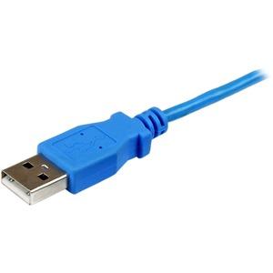 StarTech.com 1m Micro USB Ladekabel für Android Smartphones und Tablets - USB A auf Micro B - Blau - Erster Anschluss: 1 x