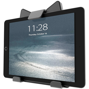 Atdec universal tablet holder - for 7in to 12in devices - VESA 100x100 - Protective soft rubber backing - Landscape to por