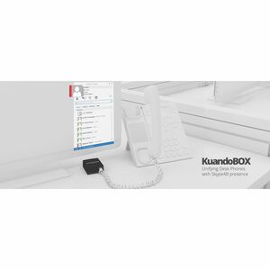 KuandoBox - Unified Presence for Skype for Business - Unifys the presence between your desk phone and Skype for business.