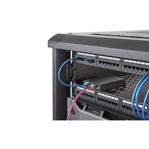StarTech.com Gigabit Ethernet Kupfer auf LWL Medienkonverter - SM LC - 20 Km - 2 Anschluss(e) - 1 x Netzwerk (RJ-45) - Dup