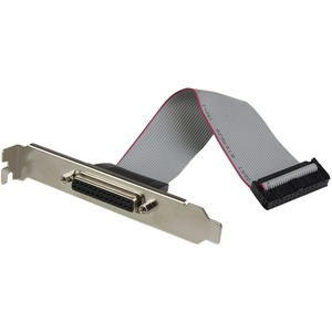 StarTech.com Paralleladapter - Low Profile Plug-in-Karte - 1 Paket - PCI Express x1 - PC - 2 x Anzahl paralleler Schnittst