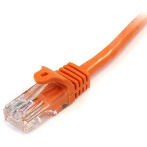 StarTech.com 3 m Kategorie 5e Netzwerkkabel für Netzwerkgerät, Hub - 1 - Erster Anschluss: 1 x RJ-45 Stecker Netzwerk - Zw