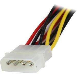 StarTech.com Y-Kabel - 30,48 cm - für SATA-Laufwerk, Optisches Laufwerk - LP4 / SATA - 1 PCs