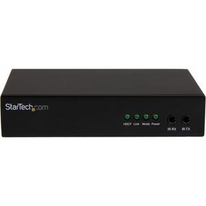 StarTech.com Video-Extender-Transmitter/Receiver - Verkabelt - 1 Ausgabegerät - 70,10 m Reichweite - 1 x Netzwerk (RJ-45)