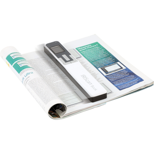 IRIS Iriscan Book 5-White Portable Document And Photo Scanner - PC Free Scanning - USB HANDHELD SCAN SD JPG PDF OCR 30PPM