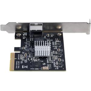 StarTech.com Gigabit-Ethernet-Karte für Server - 10GBase-T - Plug-in-Karte - PCI Express x4 - 1,25 GB/s Datenübertragungsr