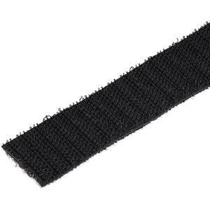 StarTech.com Tie Strap - Schwarz - 1 Paket - Stoff