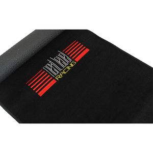 Next Level Racing Floor Mat for Floor - Floor - 1650 mm Length x 600 mm Width x 3 mm Thickness - Rectangle - Embroidered Logo