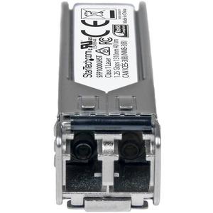 StarTech.com MSA konformes Gigabit Glasfaser SFP Transceiver Modul - 1000BASE-LH - SM LC 40Km - für Optisches Netzwerk, Da