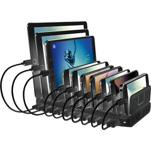 LINDY Wired Cradle for Smartphone, Tablet PC, Mobile Phone, Mobile Device - Charging Capability - Synchronizing Capability