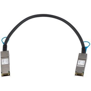 StarTech.com 0,5m QSFP+ Direktverbindungskabel - MSA konform - 40G QSFP+ Kabel - Passives Twinax Kabel - QSFP Kabel - Erst