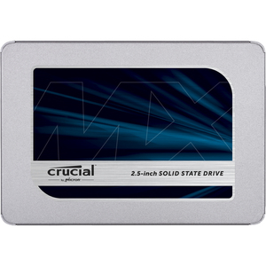 "SSD Crucial MX500 - 2.5"" Interne - 2 To - SATA (SATA/600) - 560 Mo/s Taux de transfer maximale en lecture - 256 bits Norme"