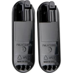"Motorola Belt Clip, Twin Pack - 1"" Length x 0.3"" Width - for Radio, Walkie-talkie, Pocket, Belt - 2Pack ."