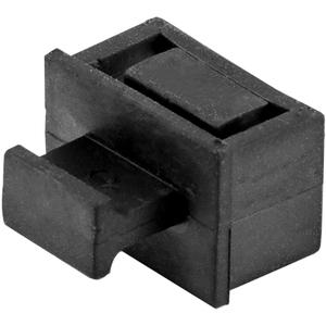 StarTech.com 10 Pack SFP Dust Cover for Open SFP/SFP+ Slots - Fiber Optic Dust Caps/Plugs - Pull Tab Network Switch Port P