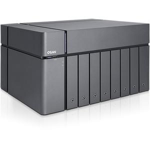 Sans Digital XCubeNAS XN5008T SAN/NAS Storage System - Intel Celeron Dual-core (2 Core) 2.90 GHz - 8 x HDD Supported - 112