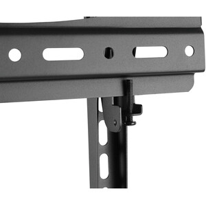 """V7 TV Cart Height Adjustable with Tilt - Up to 70"""" Screen Support - 110.23 lb Load Capacity - 2 x Shelf(ves) - 71.4"""" Heigh"""