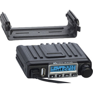 Midland MXT115 MicroMobile Two-Way Radio - For Walkie-talkie with NOAA All Hazard, Weather Disaster - UHF - 15 Weather - 1