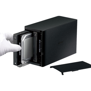 Buffalo LinkStation SoHo 2bay Desktop 4TB Hard Drives Included - Marvell ARMADA 370 800 MHz - 2 x HDD Supported - 2 x HDD