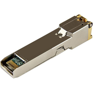 StarTech.com SFP-TX-ST SFP (Mini-GBIC) - 1 RJ-45 Buchse 10/100/1000Base-TX Netzwerk LAN - für Datenvernetzung - Verdrillte