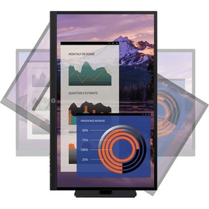 HP P27h G4 68,6 cm (27 Zoll) Full HD WLED LCD-Monitor - 16:9 Format - Schwarz - 690 mm Class - IPS-Technologie (In-Plane-S