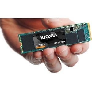 KIOXIA EXCERIA Solid State-Laufwerk - M.2 2280 Intern - 1 TB - PCI Express NVMe (PCI Express NVMe 3.0 x4) - Desktop-PC, No
