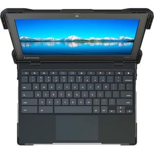 UZBL Lenovo 100e 2nd Gen (MTK) Chromebook Hard Shell Case - For Lenovo Chromebook - Transparent - Drop Resistant, Scratch