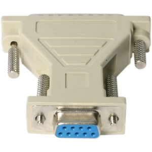 StarTech.com Datentransferadapter - 1 Paket - 1 x DB-9 Buchse Seriell - 1 x DB-25 Stecker Seriell - Beige