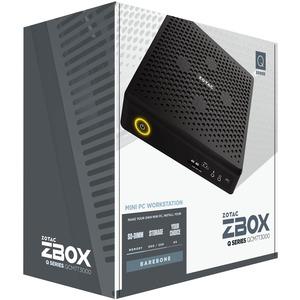 Zotac ZBOX QCM7T3000 Workstation - Intel Core i7 Hexa-Core i7-10750H 10. Generation 2,60 GHz DDR4 SDRAM - Mini-PC - NVIDIA