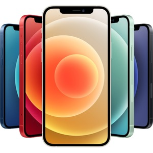"Apple iPhone 12 128 GB Smartphone - 15.5 cm (6.1"") OLED Full HD Plus - Hexa-core (6 Core) - 4 GB RAM - iOS 14 - 5G - Blue"