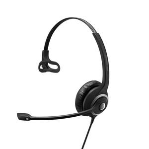 EPOS | SENNHEISER IMPACT SC 230 Headset - Mono - Easy Disconnect - Wired - On-ear - Monaural - Noise Cancelling, Electret,