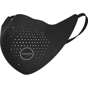 AirPop Original Mask (Black) - Comfortable, Breathable, Filter, Durable, Reusable, Washable, 4-layered Filter, Adjustable