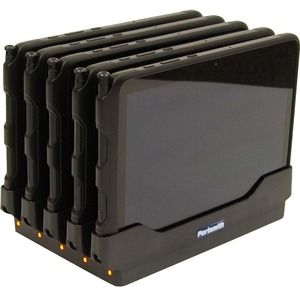 Portsmith 5-Slot Dock for Samsung Galaxy Tab Active Pro - Docking - Tablet PC - 5 Slot - Charging Capability ACTIVE PRO