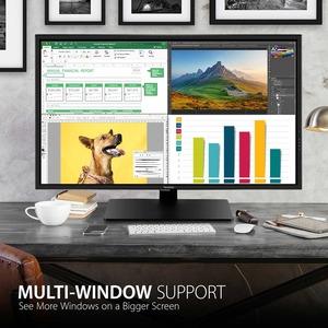 "Viewsonic VX4381-4K 42.5"" 4K UHD LED LCD Monitor - 16:9 - Black - 43"" Class - Multi-domain Vertical Alignment (MVA) - 3840"