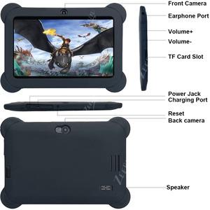 """Zeepad Tablet - 7"""" HD - Cortex A7 Quad-core (4 Core) 1.60 GHz - 1 GB RAM - 16 GB Storage - Android 4.4 KitKat - Black - Al"""