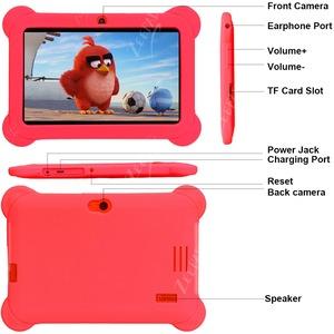 "Zeepad Tablet - 7"" HD - Cortex A7 Quad-core (4 Core) 1.60 GHz - 1 GB RAM - 16 GB Storage - Android 4.4 KitKat - Red - Allw"