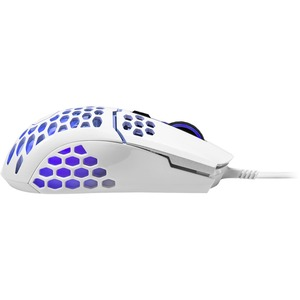 Cooler Master MasterMouse MM MM711 Gaming Mouse - Optical - Cable - Matte White - USB - 16000 dpi - Scroll Wheel - 6 Butto