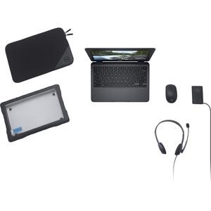 "Dell Chromebook 11 3100 29.5 cm (11.6"") Touchscreen 2 in 1 Chromebook - HD - 1366 x 768 - Intel Celeron 10th Gen N4020 Dua"