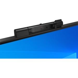 ThinkCentre TIO24Gen4 23.8-inch WLED FHD- Monitor 16:9 Format - Schwarz - IPS-Technologie (In-Plane-Switching) - 1920 x 10