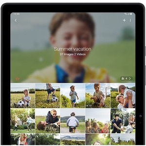 Samsung Galaxy Tab A7 SM-T500 Tablet - 26,4 cm (10,4 Zoll) WUXGA+ - 3 GB RAM - 32 GB - Android - Dunkelgrau - Octa-Core 2