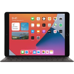 "Apple iPad (8th Generation) Tablet - 10.2"" - 3 GB RAM - 32 GB Storage - iPadOS 14 - Space Gray - Apple A12 Bionic SoC Quad"
