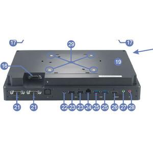 All-in-One-PC Shuttle XPC P2000PA - Intel Celeron 3865U 1,80 GHz Prozessor - 4 GB RAM DDR4 SDRAM - 120 GB SSD - 29,5 cm (1