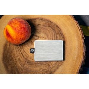 Seagate One Touch Tragbar Solid State-Laufwerk - Extern - 1 TB - Weiß - Notebook Unterstütztes Gerät - USB 3.0 Type B - 40
