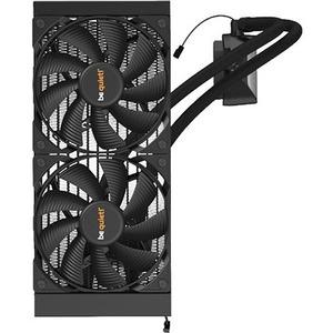 be quiet! Kühlventilator/Heizer/Pumpe - Kühlsystem, Spielkonsole - 140 mm Maximum Fan Diameter - 2 x Fan(s) - 38,1 dB(A) G