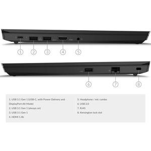 "Lenovo ThinkPad E14 Gen 2 20TA0025US 14"" Notebook - Full HD - 1920 x 1080 - Intel Core i7 i7-1165G7 Quad-core (4 Core) 2.8"