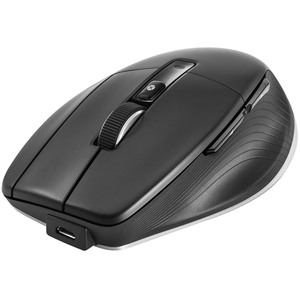 3Dconnexion CadMouse Maus - Bluetooth/Radio-Frequenz - USB - Optisch - 7 Taste(n) - 5 Programmable Button(s) - Kabel/Draht