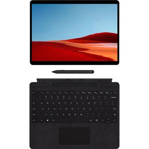 "Microsoft Surface Pro X Tablet - 13"" - 3 GHz - 8 GB RAM - 256 GB SSD - Windows 10 Pro - 4G - Matte Black - Microsoft SQ1 S"